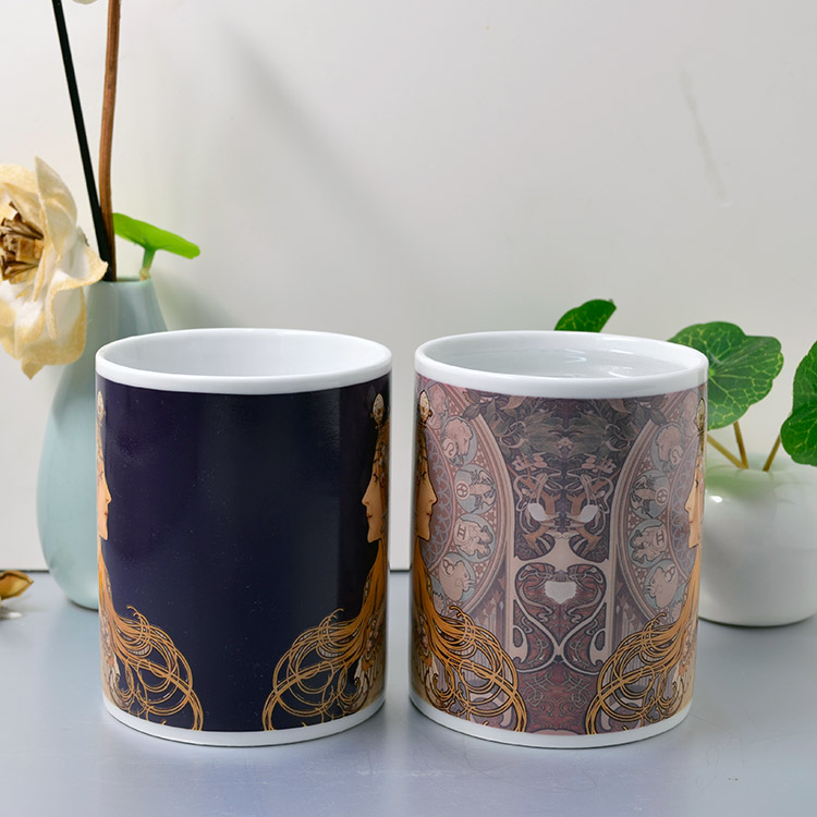 Classic goddess creative discoloration cup